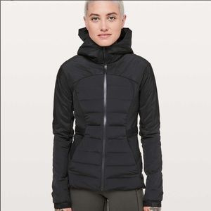 NWT Lululemon Down For It Jacket Black SOLD OUT 4